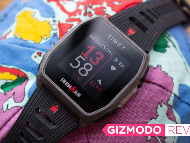 Timex's New GPS Smartwatch Ain't Cute, But It's Cheap
