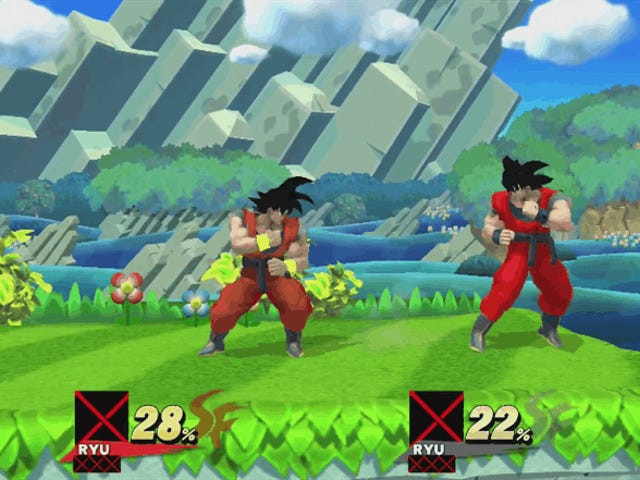 Players Have Modded Goku Into Smash Bros. Wii U