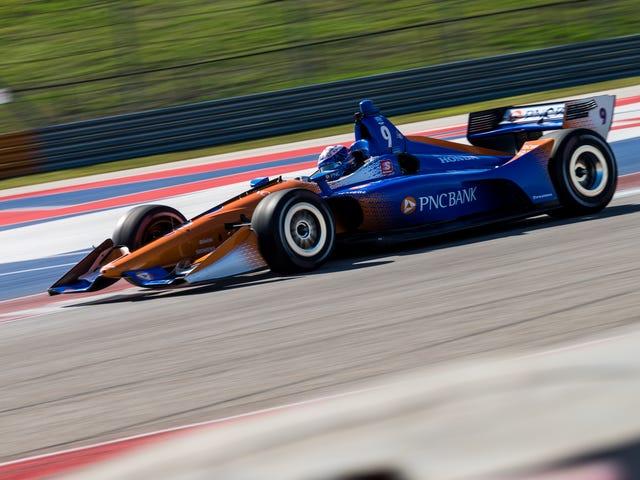 IndyCar cuối cùng cũng ném những chiếc xe nhanh xung quanh COTA, và đó là khoảng thời gian chết tiệt