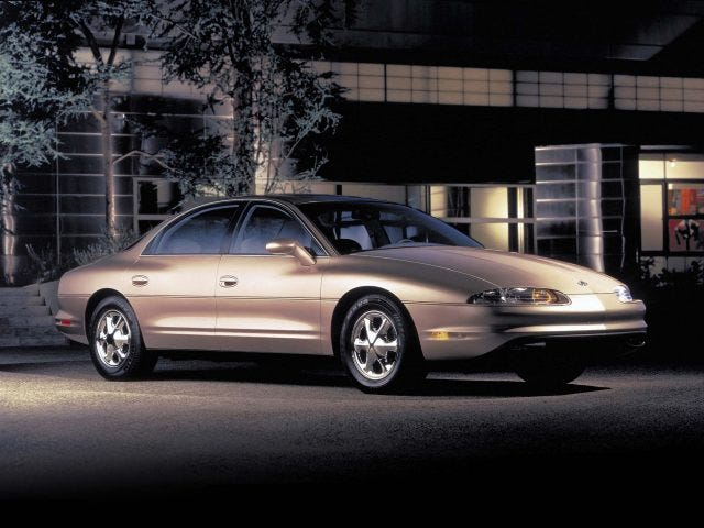 A Casual Reminder That the Oldsmobile Aurora was Badass