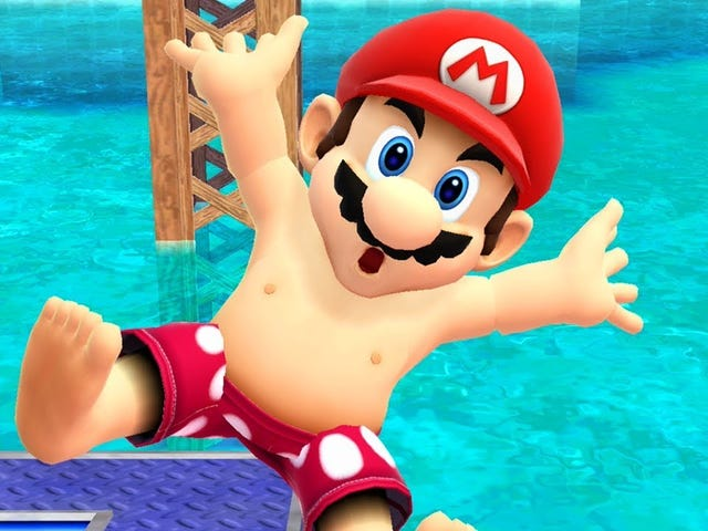 We Were All Wrong About Mario's Nipples