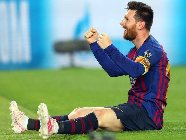 O velho Messi ainda tem
