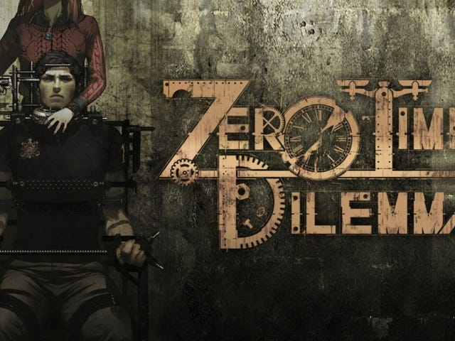 Zero Time Dilemma PSVita and 3DS Screenshot Comparison