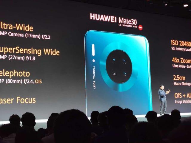 Τα πρώτα βίντεο εξαιρετικά αργής κίνησης του Huawei Mate 30 εμφανίζονται ήδη και είναι τρελά