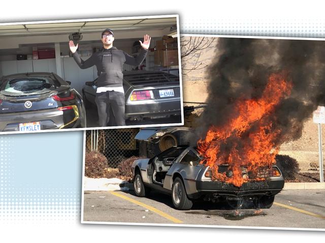 なぜ人々がその奇妙なウイルス性DeLorean火災に関する質問をしているのですか