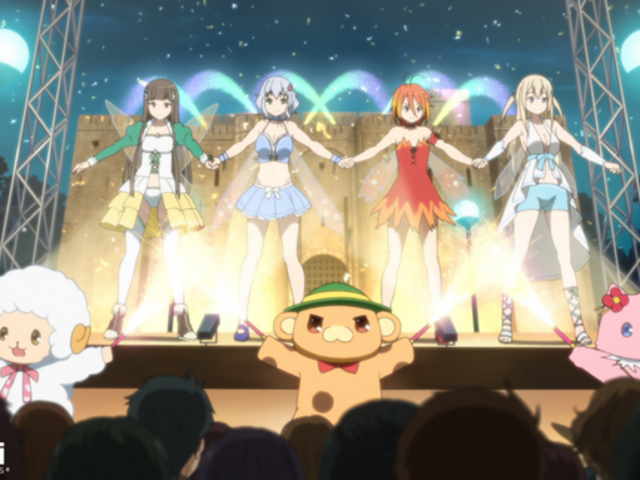 """Amagi Brilliant Park"" English Dub Introduction With Trailer And Cast List"