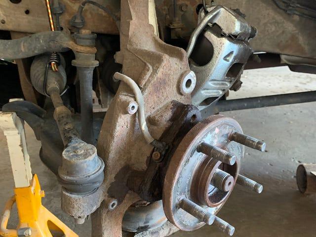 PSA: wheel bearings last a long time