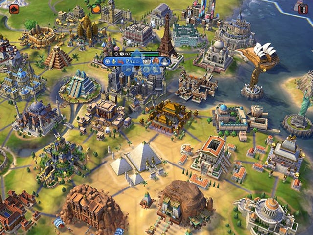 <i>Civilization VI </i>Madman Builds 34 Wonders In One City