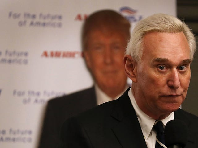 Roger Stone Claims Russian National Offered 'Dirt' on Hillary Clinton in Exchange for $2 Million