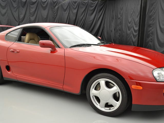 Super Clean 1994 Toyota Supra Mampu Top $ 90,000