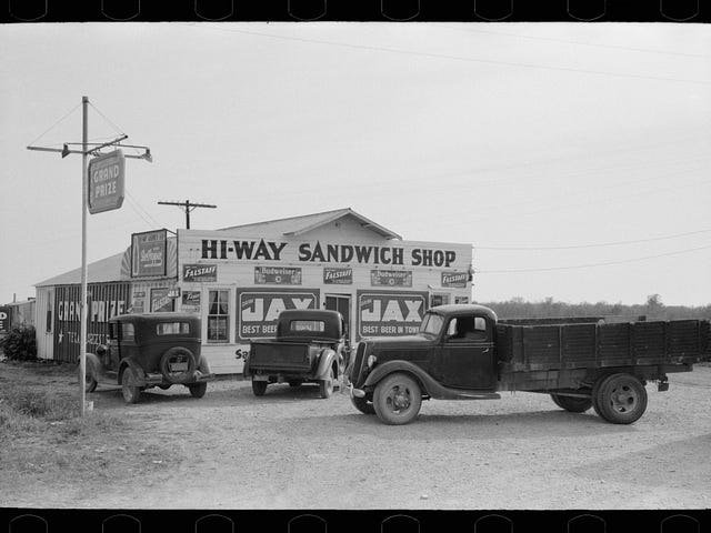 सैंडविच की दुकान - वाको, टेक्सास