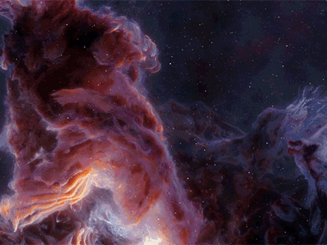 A Computer Randomly Generated These Nebulae That Look More Spectacular Than Hubble Images