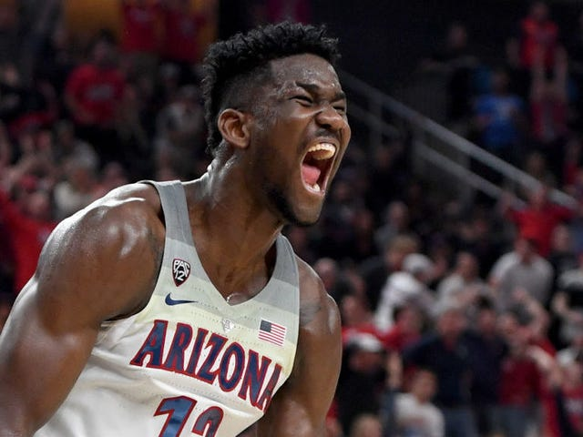 My Weird Son Deandre Ayton Is The Green Goblin