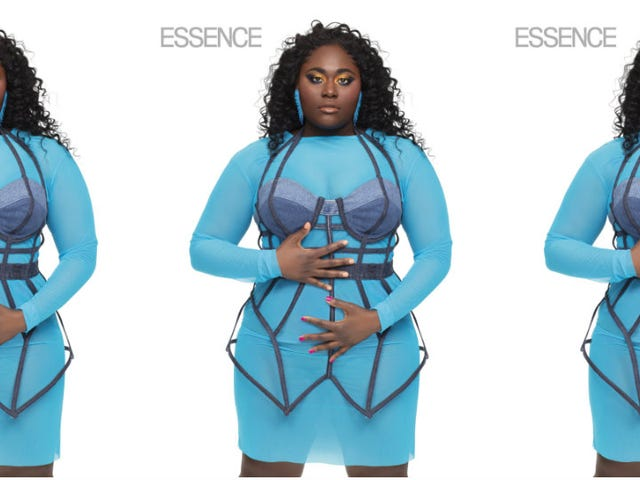 In Living Color: Danielle Brooks Brightens Up Essence Magazine