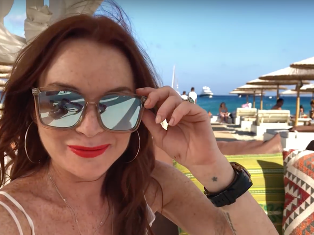 Lindsay Lohan: 'I've Joined the MTV Family, and I'm Lindsay Lohan'