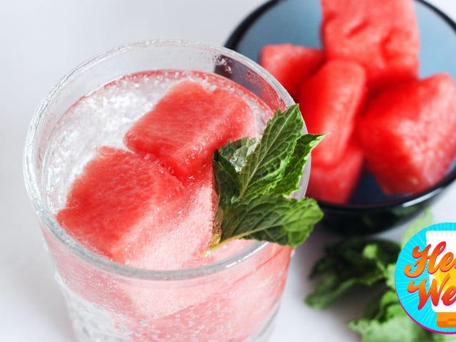 Why Melons Are the Best Frozen Fruit to Chill Your Drinks With