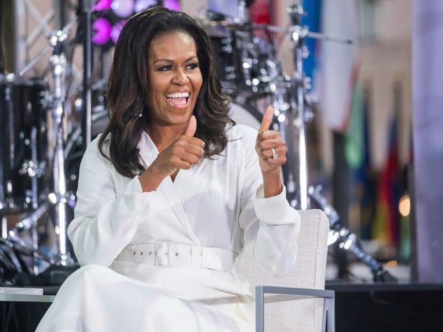 Michelle Obama đã sẵn sàng Becoming cuốn sách lớn nhất năm 2018