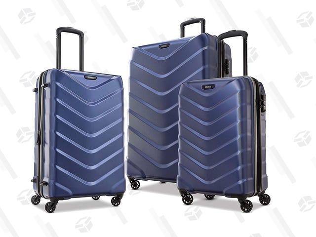 使用新秀丽和American Tourister行李优惠高达50%的折扣来升级您的老化行李