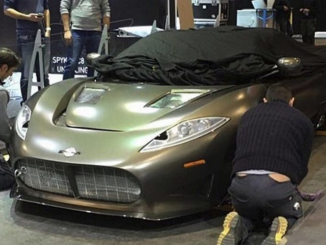 Spyker is back - will be at Geneva!