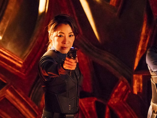 Michelle Yeoh is in talks for her own Star Trek spin-off