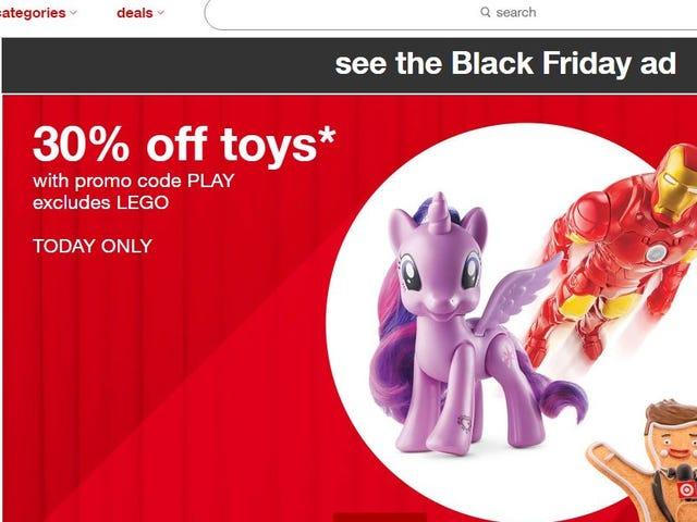 PSA: Target Sale
