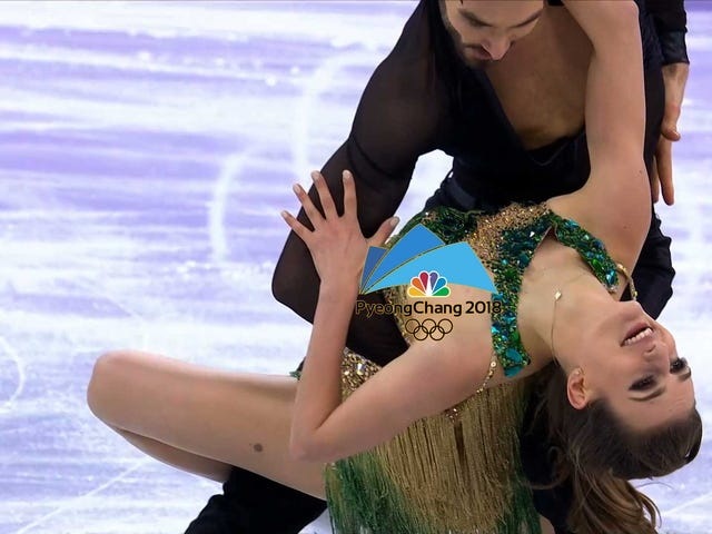 "Ice Dancing Favorite After NSFW Wardrobe Malfunction: ""It Was Pretty Distracting"""