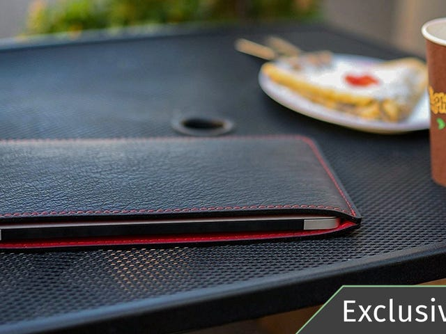 Give the Gift of a Custom Leather Laptop Sleeve For 15% Off [Exclusive]