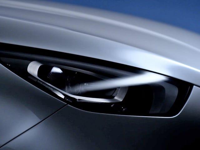 La camionnette Mercedes-Benz ressemble à une voiture de sport effrayante