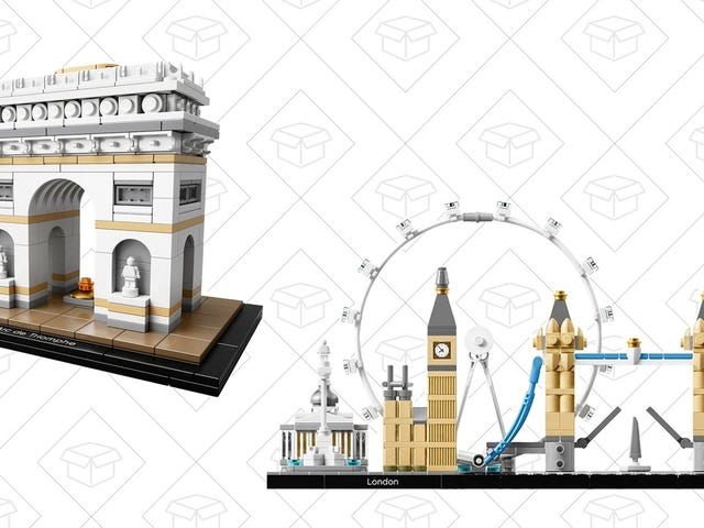 Build Some of Europe's Iconic Sights With These $32 LEGO Architecture Sets