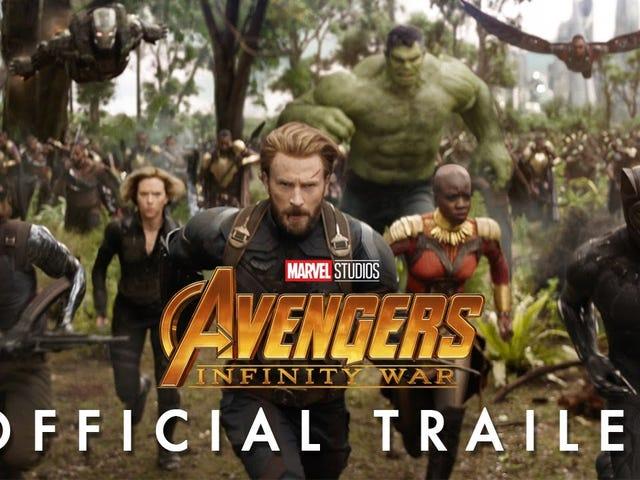 ได้รับปริมาณของ Wakanda ใน <em>Avengers: Infinity War</em> ตัวอย่างหนัง <em>Avengers: Infinity War</em>