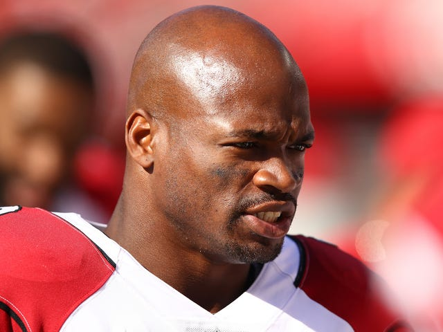 Washington Thinks The Solution To Their Running Back Problem Is Adrian Peterson (It's Not)