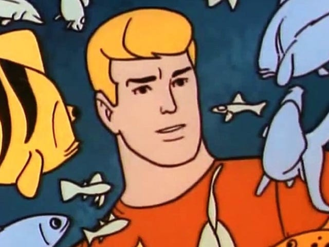 The Aquaman Trailer Is Even More Whimsical When It's Animated
