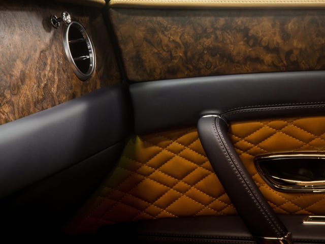 The Wood in My Bentley Isn't Woody Enough