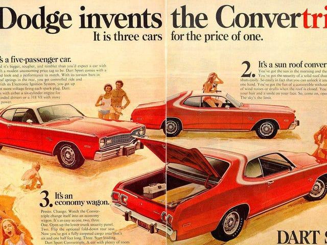 Det er tid vi tar tilbake bilannonser fra 1970-tallet