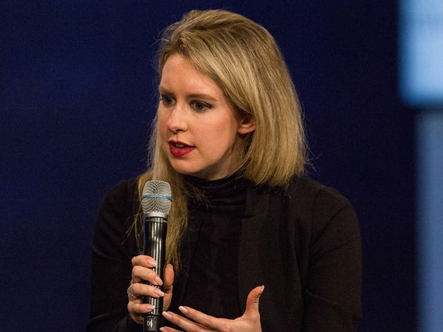 Disgraced Theranos CEO Elizabeth Holmes Is Allegedly Looking to Start Another Company