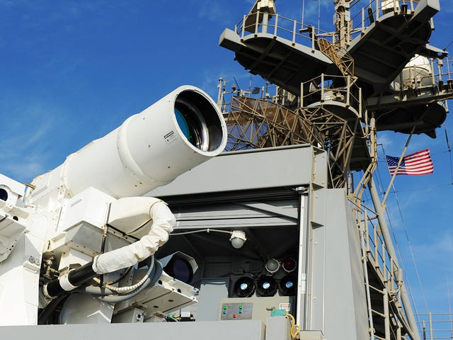 Navy To Test Superlaser Of Truly Terrifying Proportions