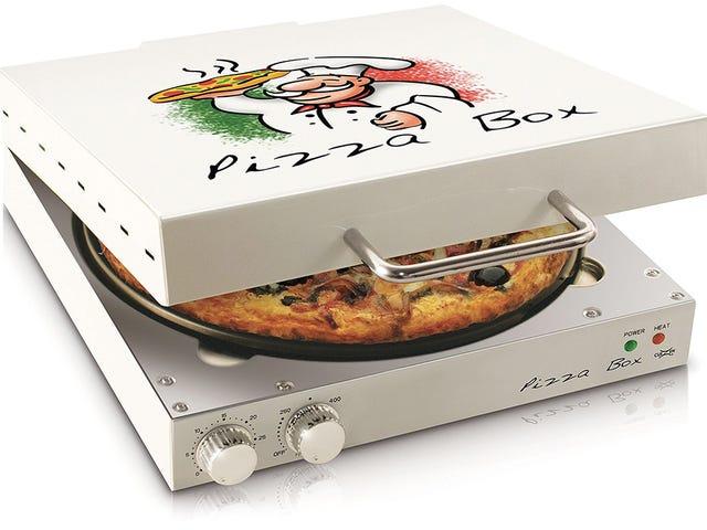 Ang Pizza Mula sa Box-Shaped Oven na ito ay Palaging Hot at Gooey