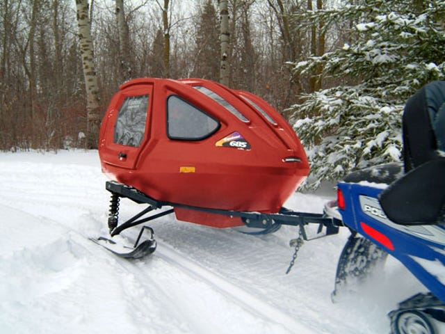 Took my snowmobile out of 2 years storage.