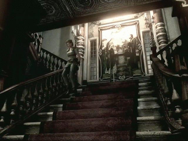 Bagaimana <i>Resident Evil</i> Speedruners Jimat Masa Dengan Meluncur Tangga