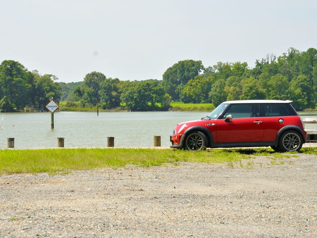 The mini went on some average sized roads today
