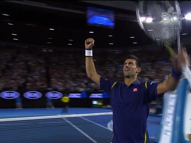 Novak Djokovic thậm chí không cần phải chơi hết mình để giành chiến thắng tại Úc mở rộng