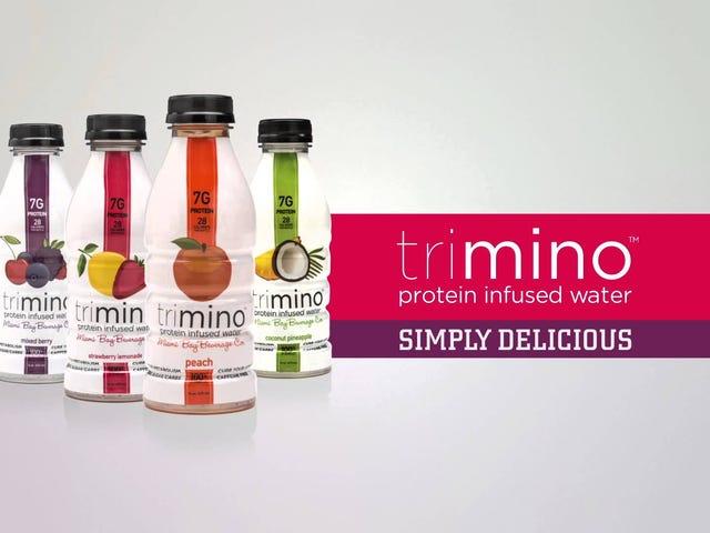 ट्रिमिनो के साथ अपने पानी में कुछ प्रोटीन प्राप्त करें