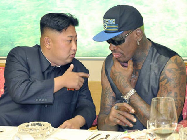 Dennis Rodman Is Back In North Korea For Some Reason
