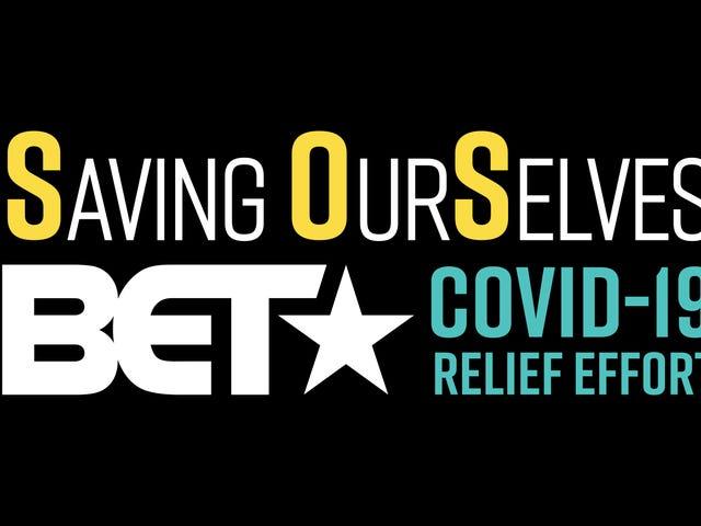 BET Networks сотрудничает с United Way и NAACP для оказания помощи COVID-19