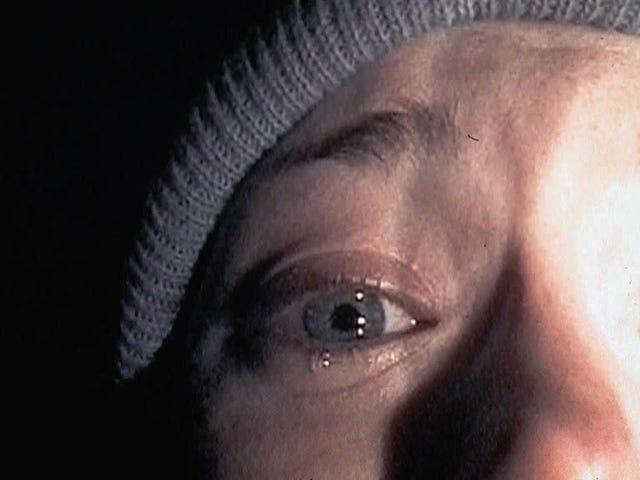 "Blow your nose, dry your eyes, and learn how The Blair Witch Project's ""confessional"" scene was filmed"