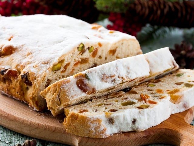 Stollen is the German holiday bread that can't shake its fruitcake resemblance