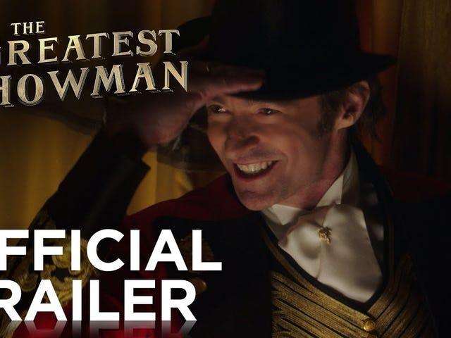 Дивитися Трейлер для <i>The Greatest Showman,</i> PT Barnum Musical З піснями <i>La La Land</i> Guys