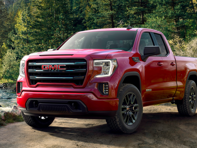 The 2019 GMC Sierra Elevation Is A Four-Cylinder Pickup With A Face You Won't Forget
