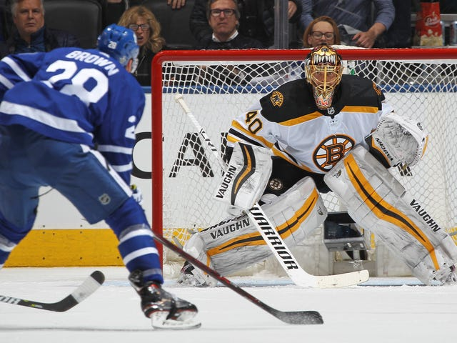 Tuukka Rask Ruined The Maple Leafs' Best And Maybe Last Chance
