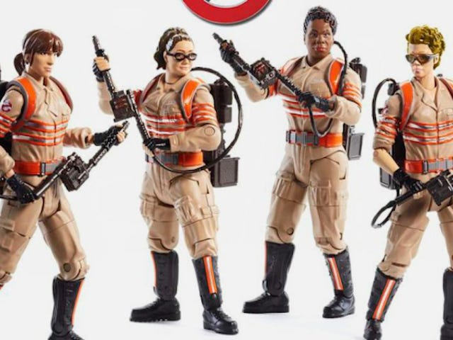 Mattel Says Ghostbusters Toy Sales Are Better Than Expected